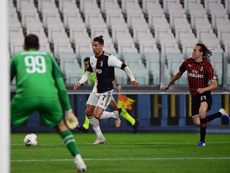 Cristiano Ronaldo - Juventus v AC Milan
