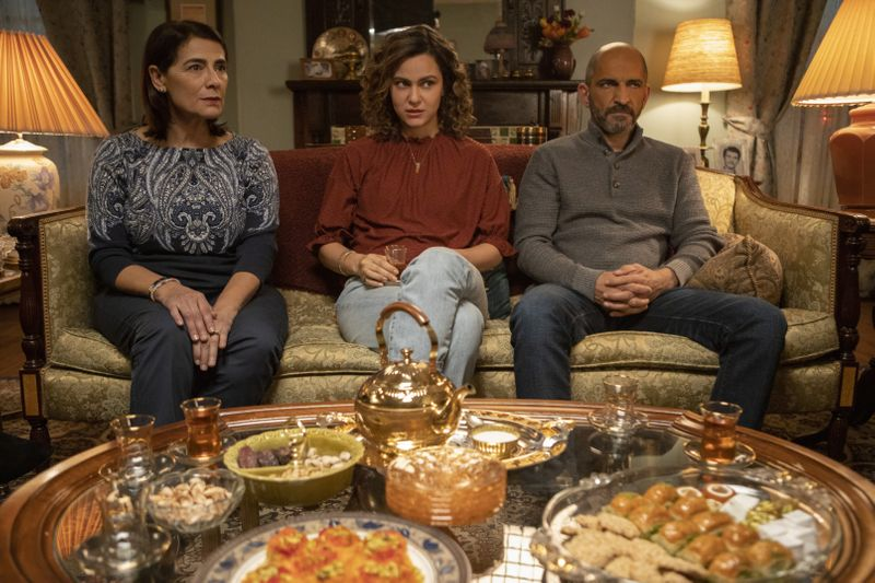 Hiam Abbass, May and Amr Waked in Ramy-1592039963971