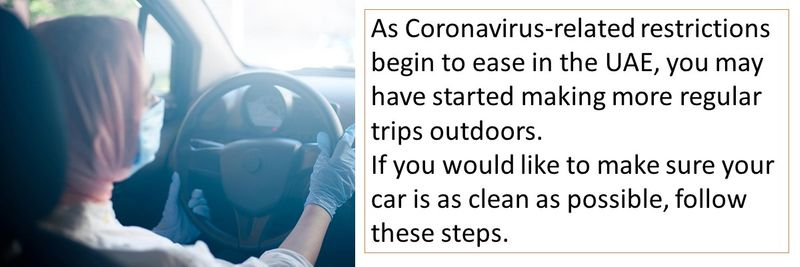 car cleaning coronavirus