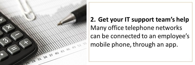 How to reduce your phone bill working from home