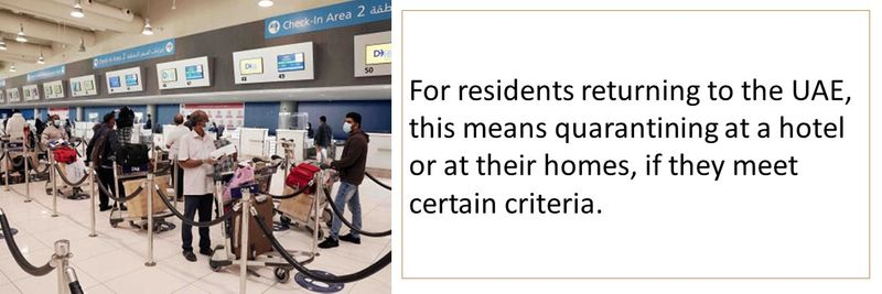 Returning residents quarantine rules