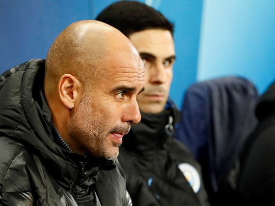Arsenal's Mikel Arteta has one eye on upsetting Pep Guardiola and Manchester City.