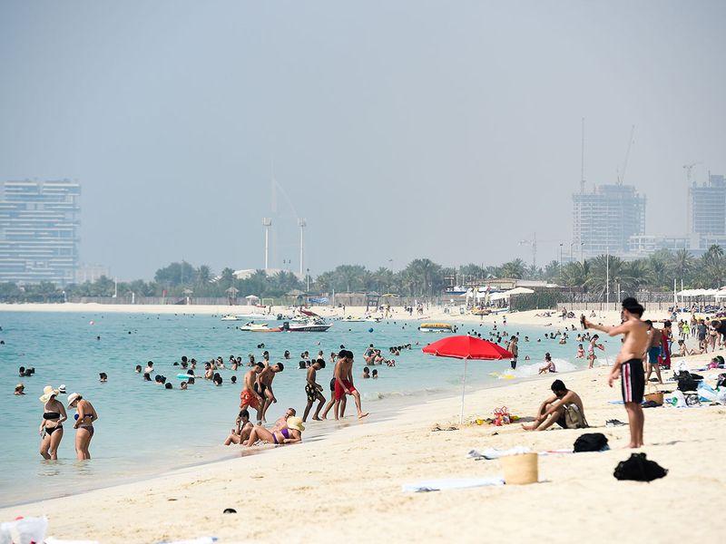 Jumeira beach