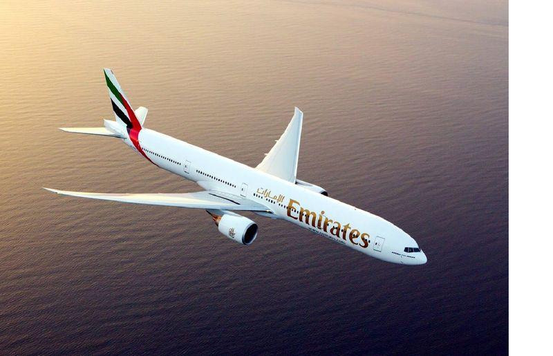 An Emirates Boeing 777-300 ER
