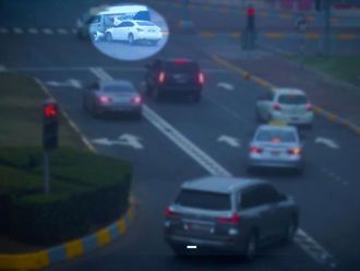 Dh1,000 fines for running red lights in Abu Dhabi