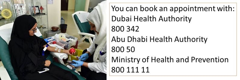 How to donate blood in the UAE 15