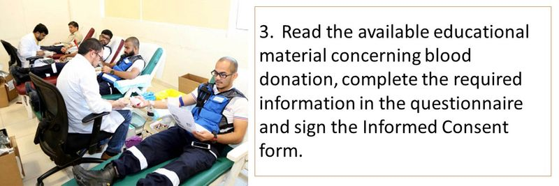 How to donate blood in the UAE 17
