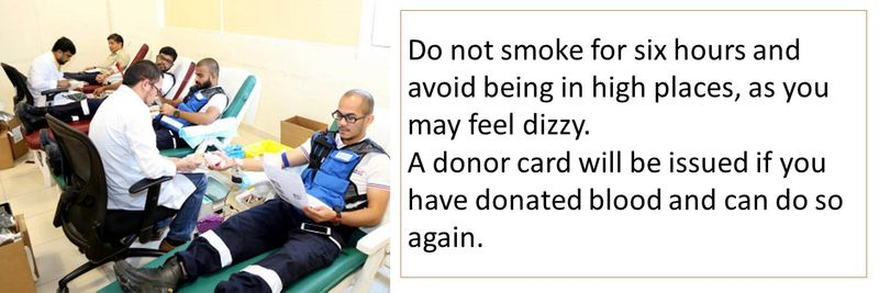 How to donate blood in the UAE 22