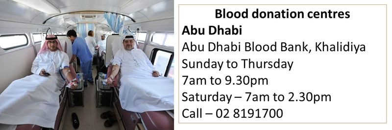 How to donate blood in the UAE 23