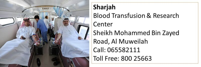 How to donate blood in the UAE 28