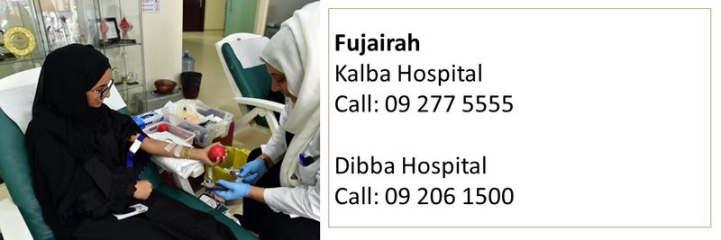 How to donate blood in the UAE 30