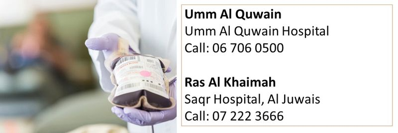 How to donate blood in the UAE 31