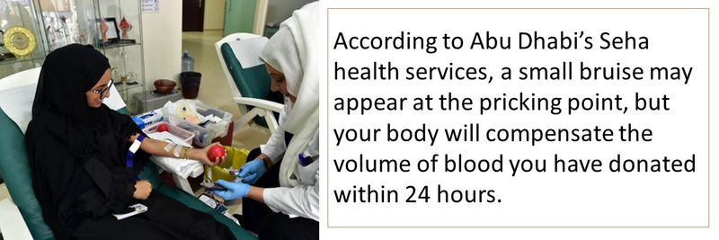 How to donate blood in the UAE 5