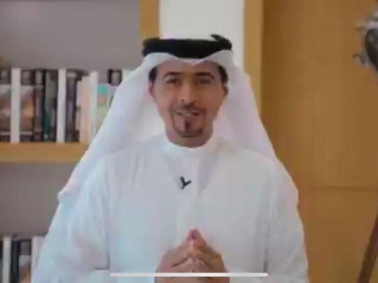 SBA chairman Ahmad Al Ameri on Tuesday tweeted the news in a short clip on his account, @AhmedAlamriSHJ.