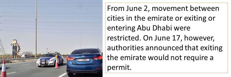 Abu Dhabi move permit