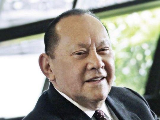Filipino billionaire Eduardo