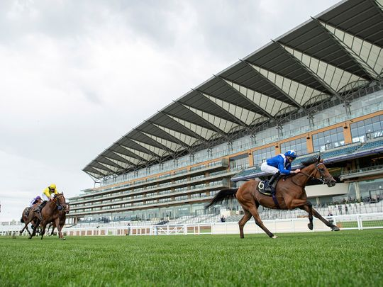 Lord North and James Doyle win the Prince of Wales's Stakes