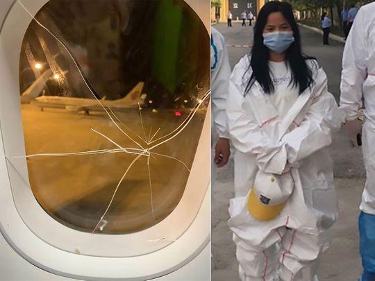 Plane Makes Emergency Landing After Drunk Passenger Breaks Window