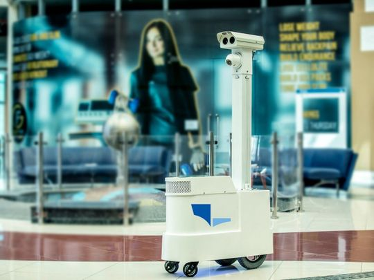 Al Forsan has turned to robotic technology to help get back up and running