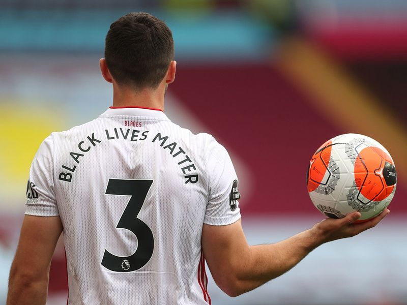 Aston Villa v Sheffield United as Premier League returns