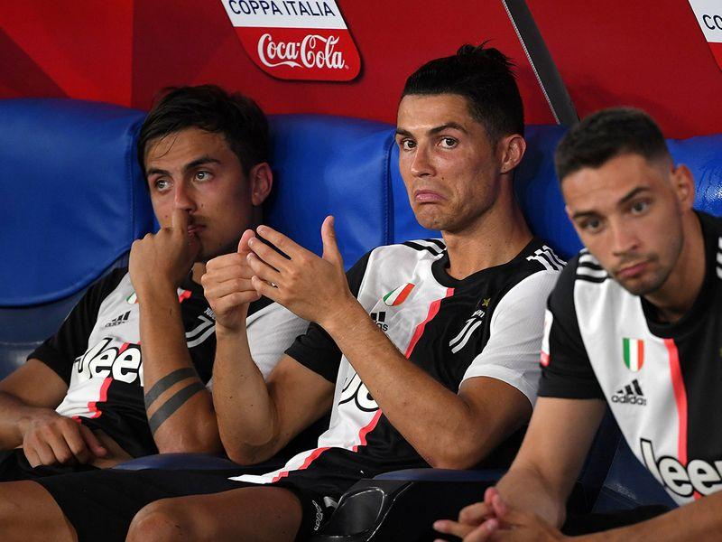 Cristiano Ronaldo and Juventus lose to Napoli in Coppa Italia final.