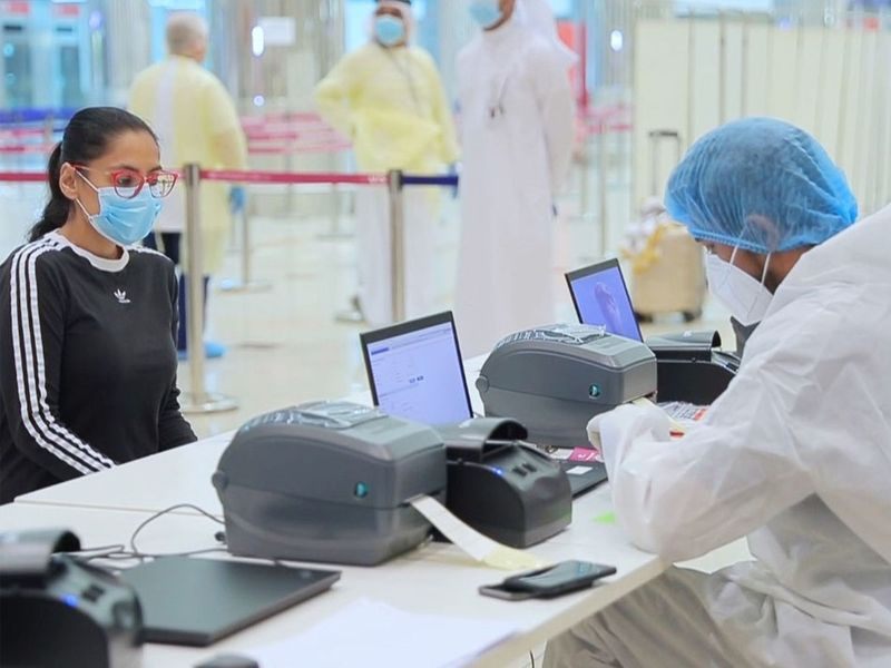 Dubai International Airport opens an in-house airport lab to process PCR tests ahead of summer traffic