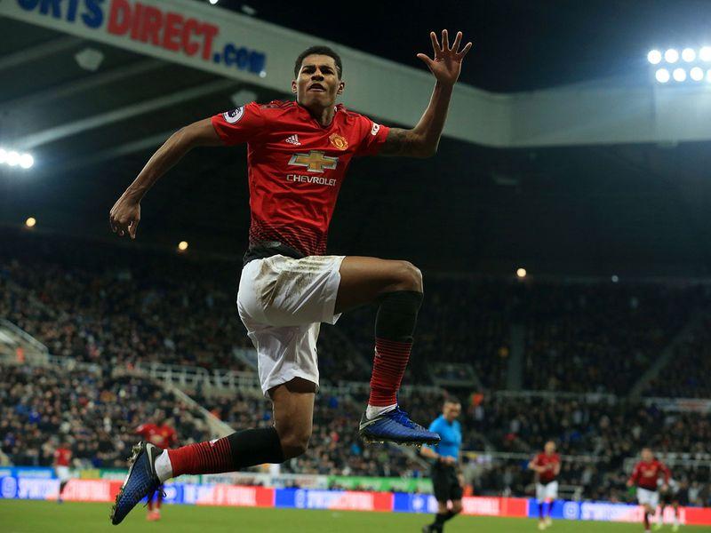 Manchester United's Marcus Rashford