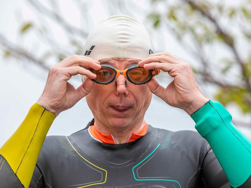 Blind triathlete gallery