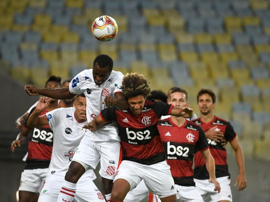 Flamengo and Bangu got the Carioca Championship back under way.