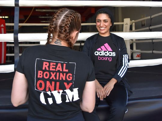 Real Boxing Only has roped in the services of Fahima Falaknaz, the first Emirati female boxer to represent the country at last year's Asian Boxing Confederation Championship