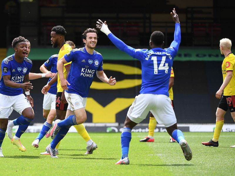 Ben Chilwell thought he had won it for Leicester before Watford levelled.