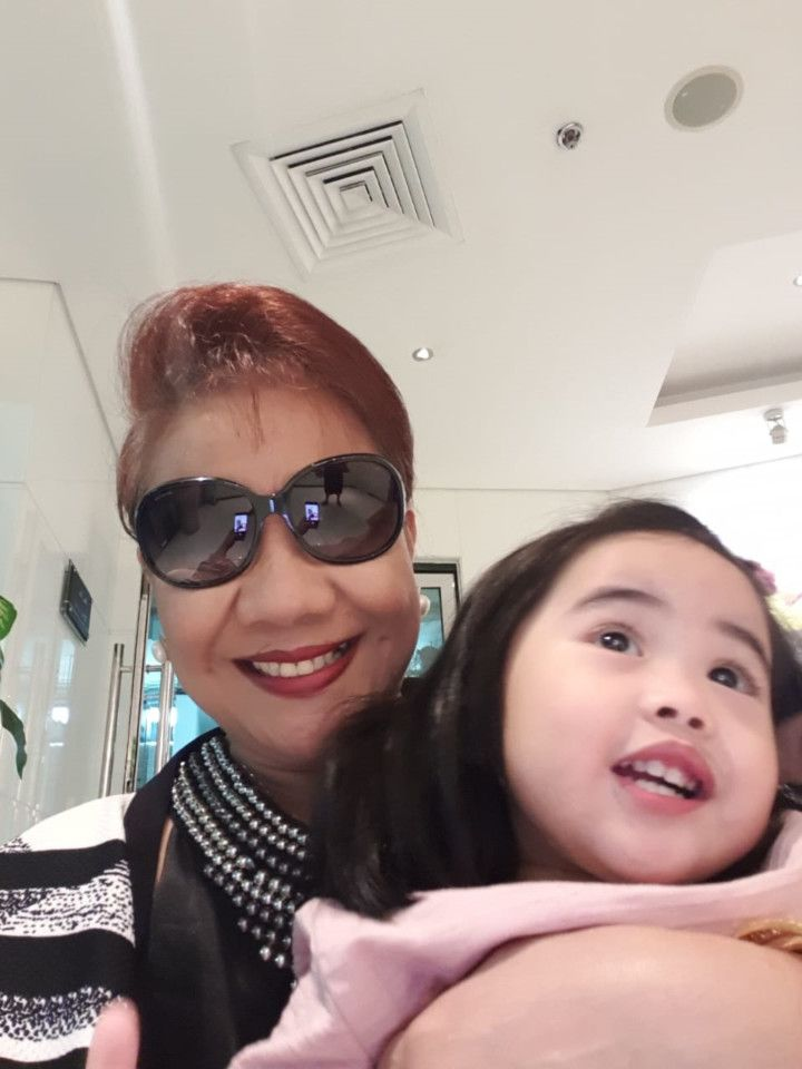 NAT Aguinaldo with her granddaughter-1592633359222