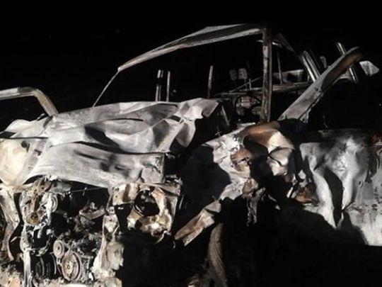 Saudi car crash