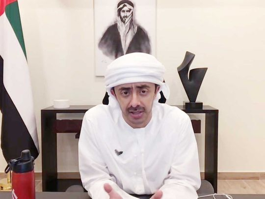 Sheikh Abdullah bin Zayed Al Nahyan, Minister of Foreign Affairs and International Cooperation