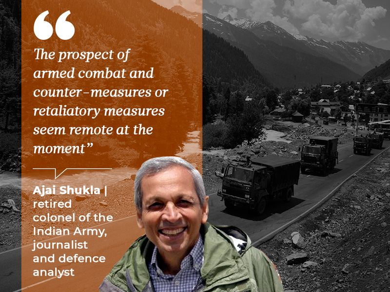 Ajai Shukla, retired colonel of the Indian Army, journalist and defence analyst