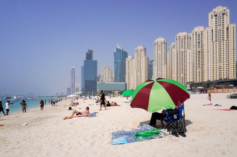 Dubai beach, JBR