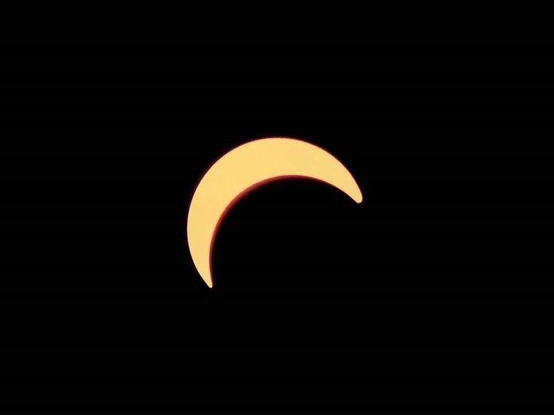 Reader photo Solar eclipse from Dubai  (Gulf News reader @prithviraj_/Instagram)