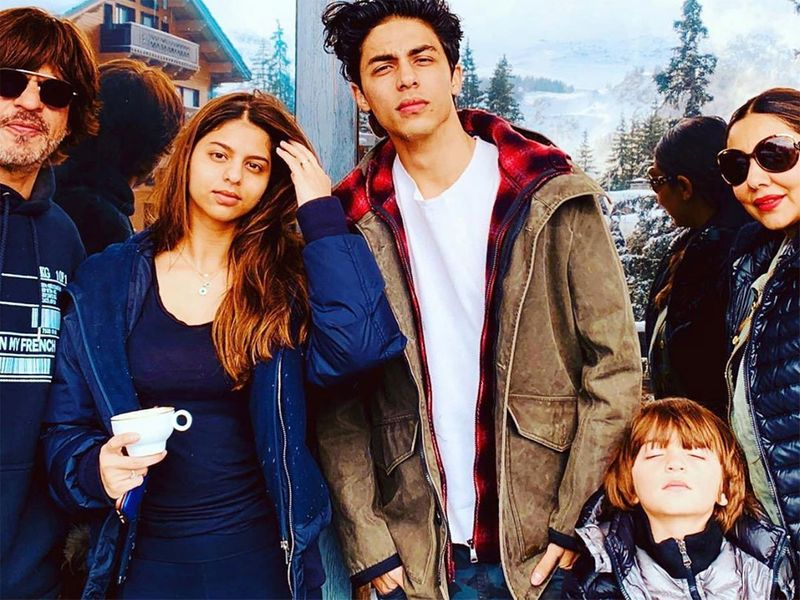 Shahrukh and family