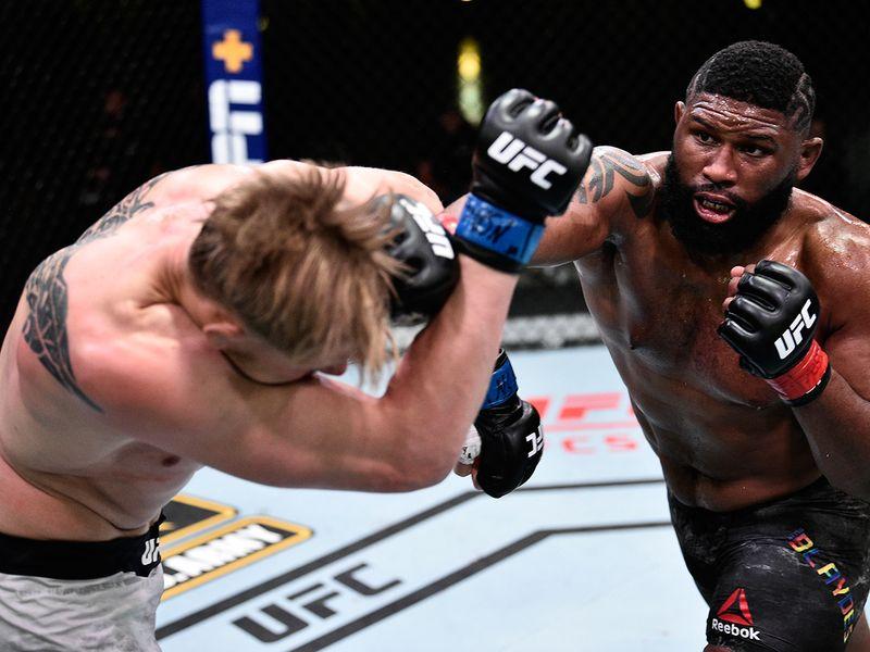 UFC heavyweight contender Curtis Blaydes dominated Alexander Volkov