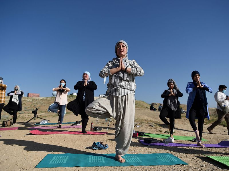 Yoga in Aghanistan