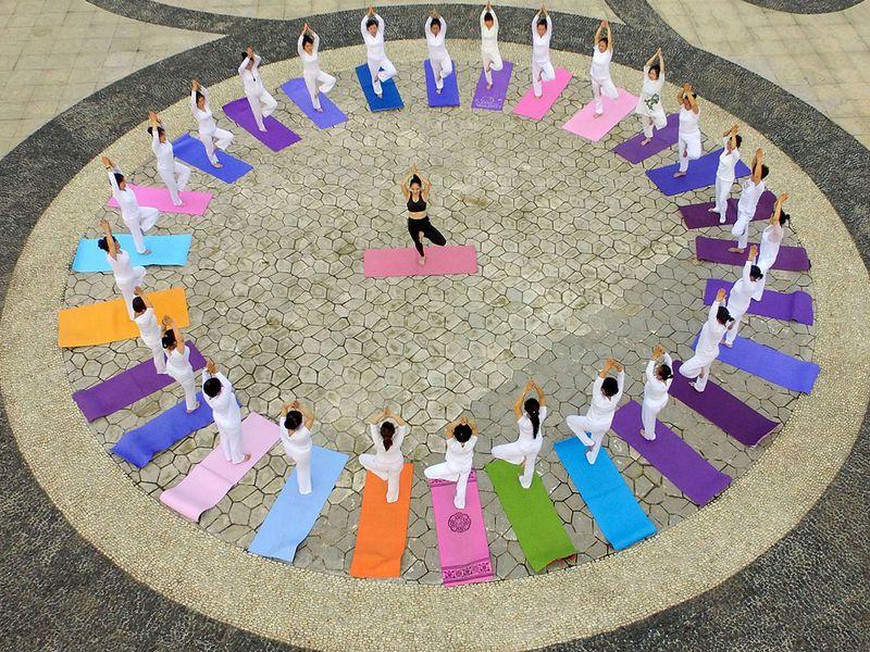 Yoga in China