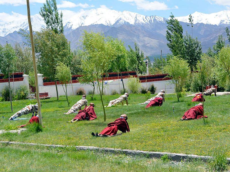 Yoga in Ladakh