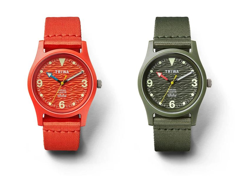 Lifestyle green watches