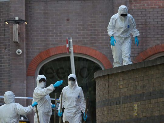Reading attack forensic police England stabbing attack