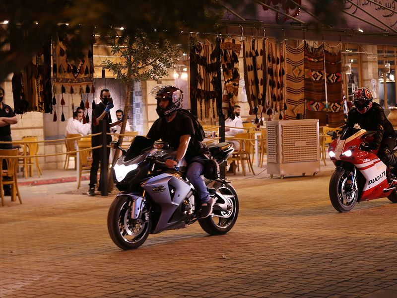 Saudi bikers