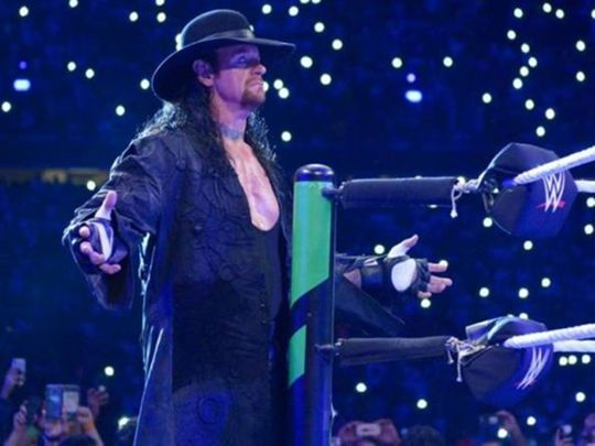 WWE wrestler The Undertaker