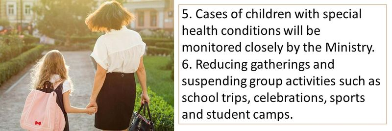 9 guidelines for school reopening