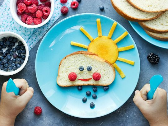 BC Foods to help your child's body fight a virus
