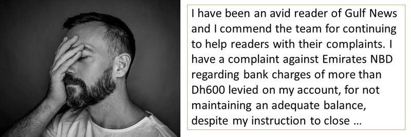 Complaint - Mr A. Swaminahan