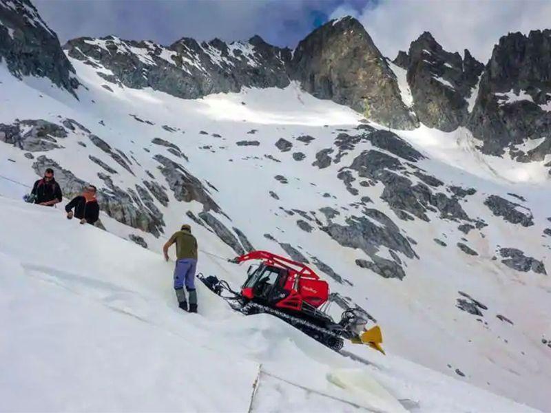 Presena glacier